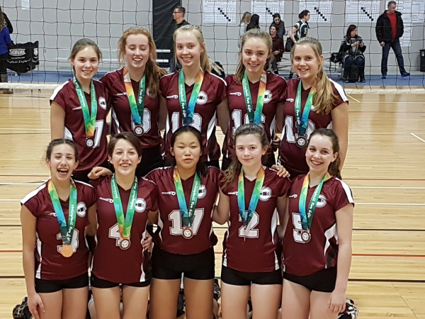 15U Bronze Medallists at 16U Trillium B