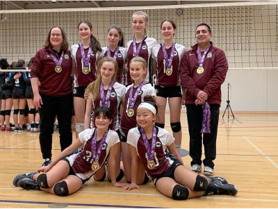 MVC 14U Matterhorn Gold Medalists at 15U McGregor Cup