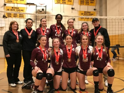 MVC 15U Columbia Bronze Medallists at 16U Trillium