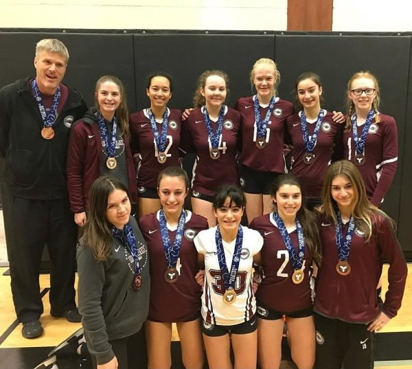 MVC 15U Vesuvius Bronze Medallists at 16U Select A