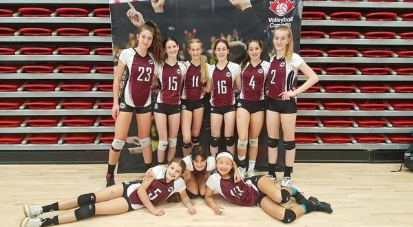 14U Matterhorn Comes 4th at Volleyball Canada Nationals
