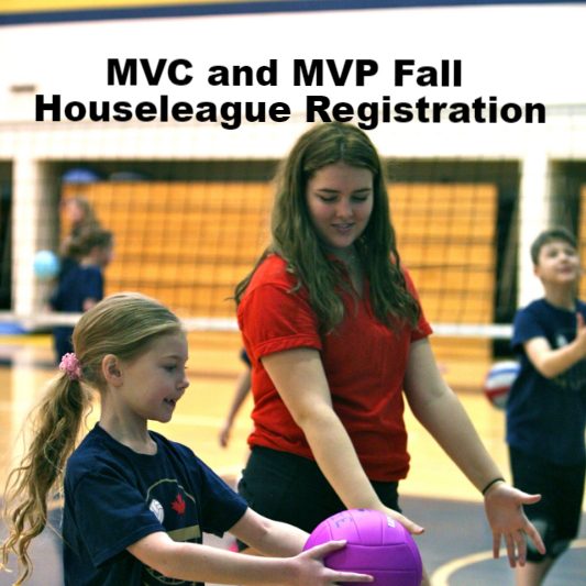 MVC and MVP Open Fall Houseleague Registration
